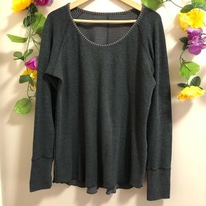 Lululemon Long Sleeve Reversible Sweatshirt / Top